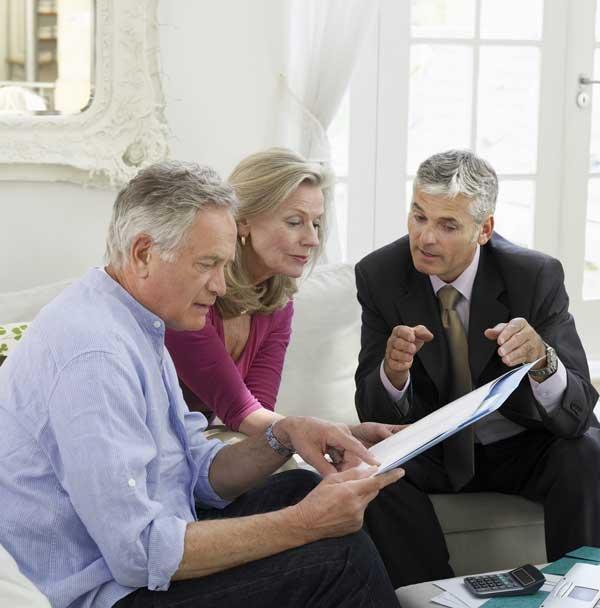 Kostenlose Beratung zur Immobiilenrente bei Ihnen zuhause