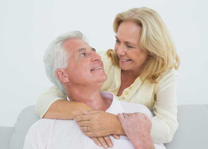 Glückliches Ehepaar