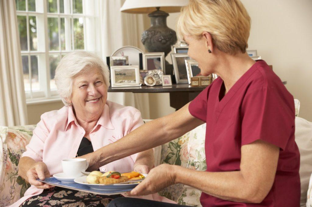 Mit Immobilienrente Pflege Zuhause
